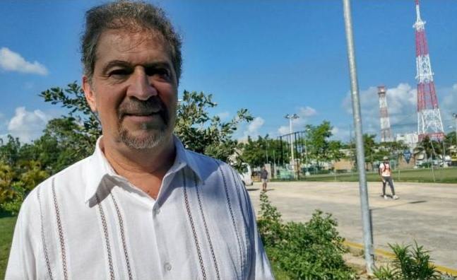 Quintana Roo Minister of Environment and Forestry Alfredo Arellano Guillermo (Photo: El Universal)