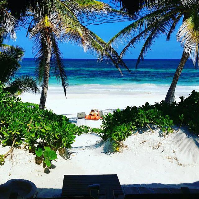 The beachTulum view