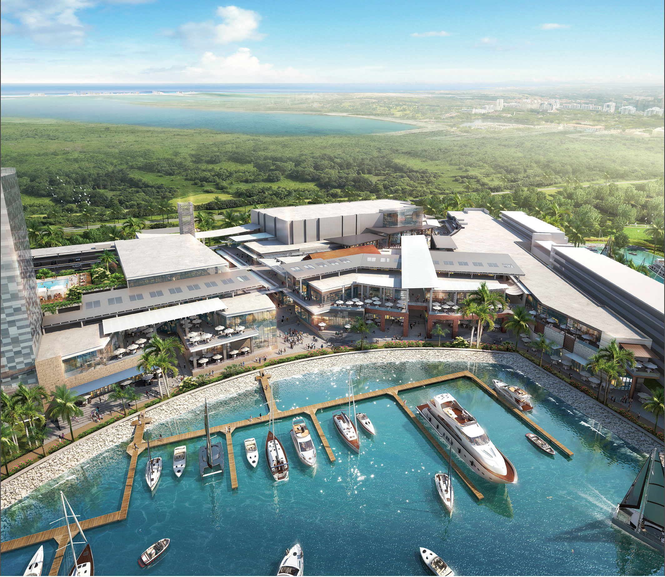 New Marina Town Center To Open In Cancun May 11