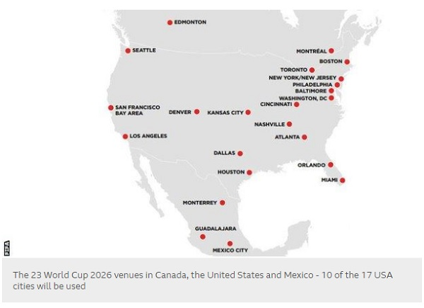 Canada us mexico joint bid will host world cup 2026 the yucatan tyt newsroom with information from bbc and sports illustrated gumiabroncs Images