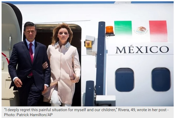 Angélica Rivera to divorce ex-President Peña Nieto - The